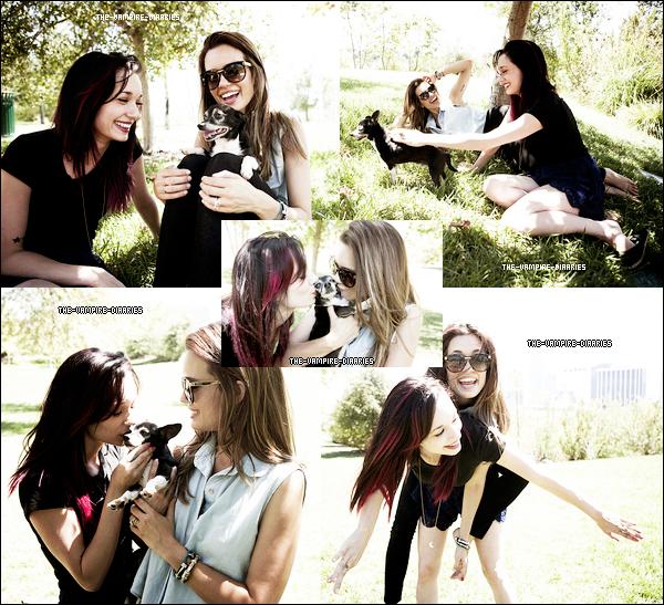 Découvrez la suite du photoshoot pour Fault Magazine ou Candice et Daniel apparaissent.