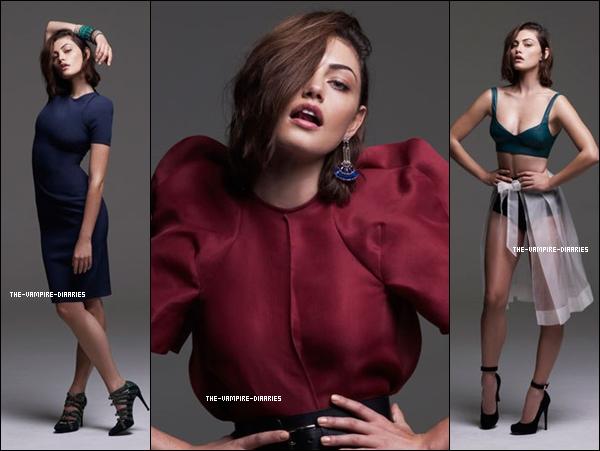 """Découvrez un tout nouveau photoshoot la magnifique Phoebe pour le """"Pierre Toussaint Magazine"""" !"""