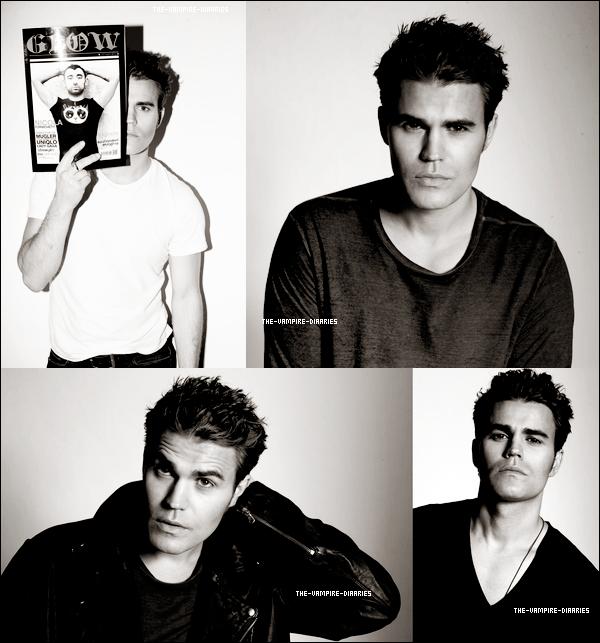 """Découvrez un tout nouveau photoshoot de Paul, radieux, pour le """"Glow Magazine"""""""