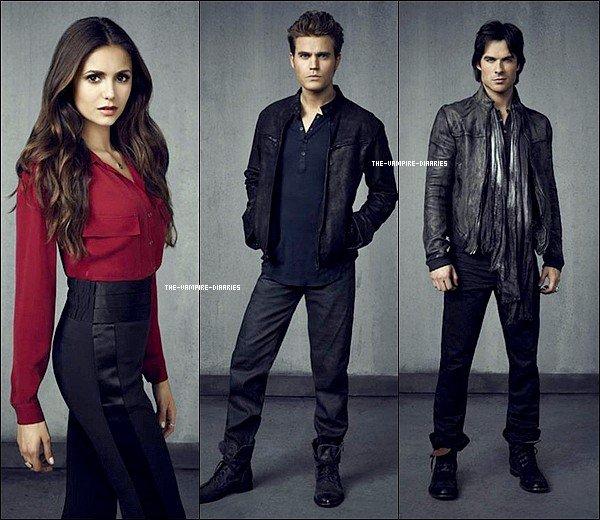 Découvrez un tout nouveau superbe photoshoot de Vampire Diaries pour la saison 4.