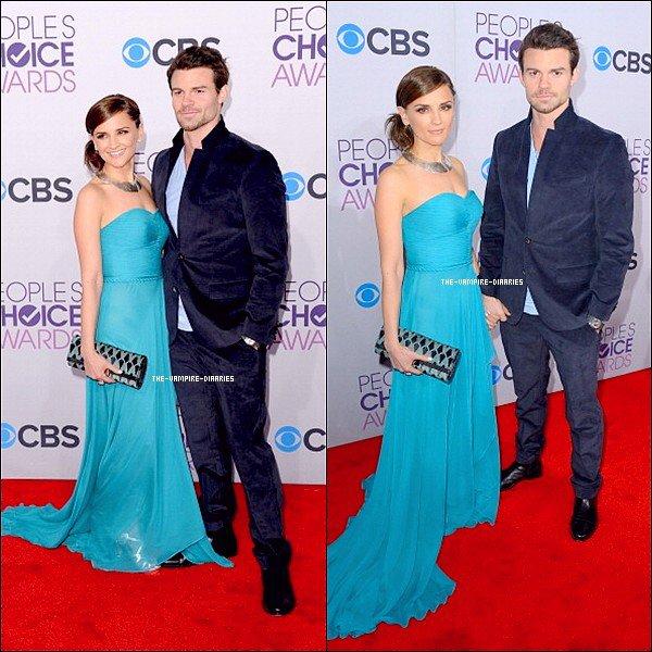 """La nuit du mercredi 09 janvier 2013 a eu lieu l'évènement """"People's Choice Awards"""" , Ian et Daniel accompagné de sa femme y étaient présents."""