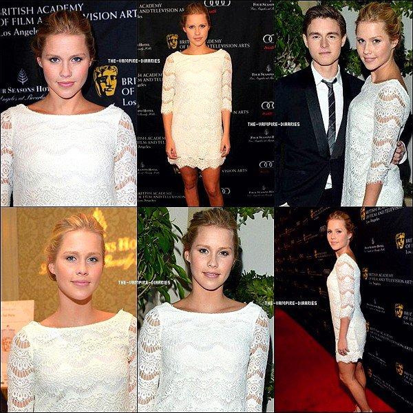 """Ce 13 0ctobre, Nina, accompagnée de Claire et Phoebe était présente aux """"Golden Globes"""" !"""