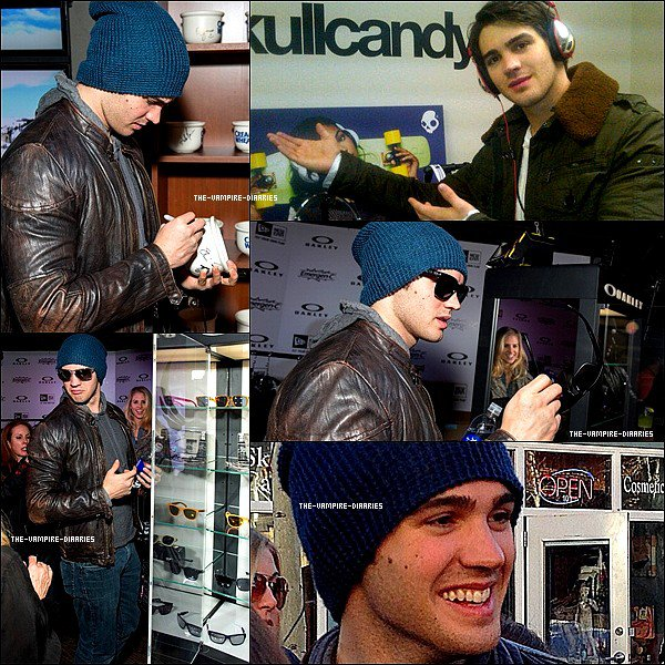 Ce 20 janvier, Ian, très classe a était vue à l'aéroport de Washington.