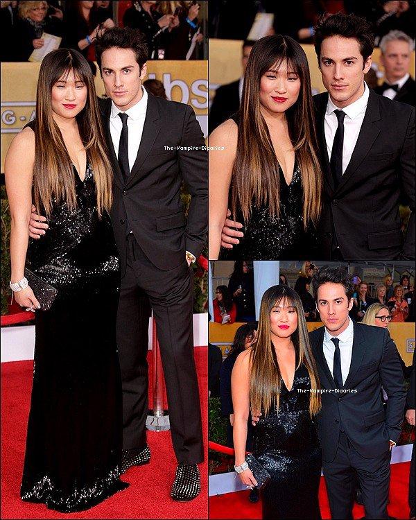 """Ce 27 janvier, Nina plus belle que jamais, était présente au """"19th Annual Screen Actors Guild Awards"""" !"""