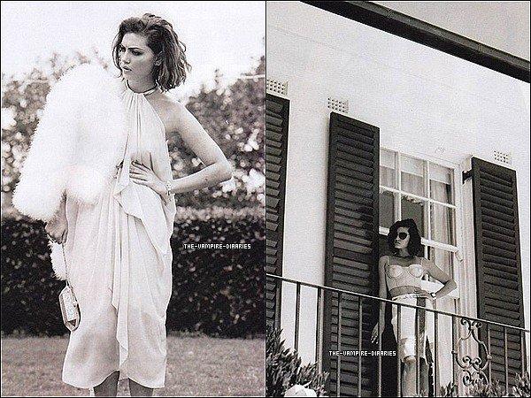 """Découvrez de nouvelles photos de Phoebe, sublime pour le """"Zanita Magazine"""" de 2013."""
