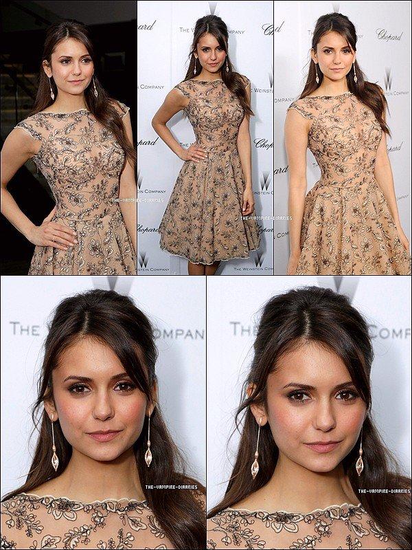 """Ce 23 février, Nina de toute beauté était présente au """"Film Independent Spirit Awards 2013"""""""