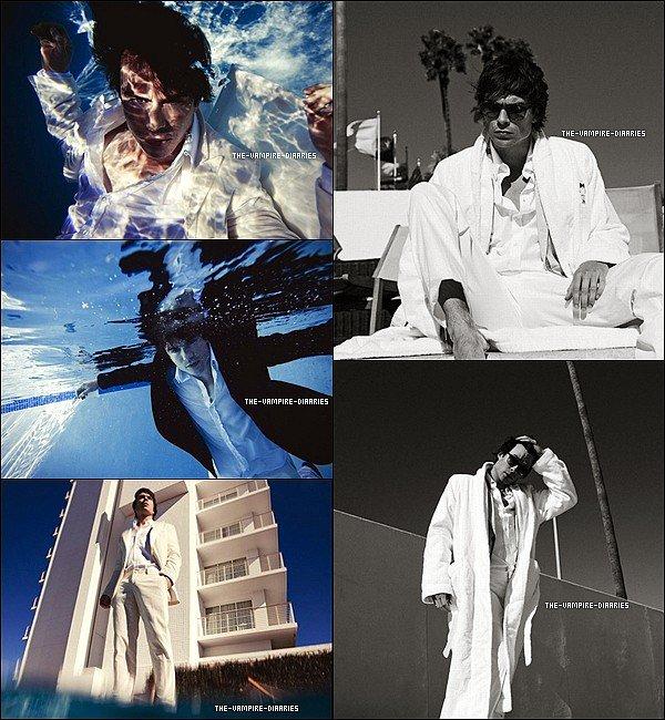 """Découvrez un photoshoot du beau Ian pour le """"LifeStyleMirror"""" Magazine pour Mars 2013."""