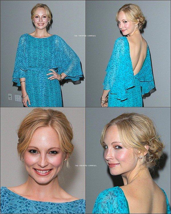 """Ce 13 mars, Nina était présente à un dîner organisé par """"Hollywood Reporter"""" et par Jimmy Choo."""