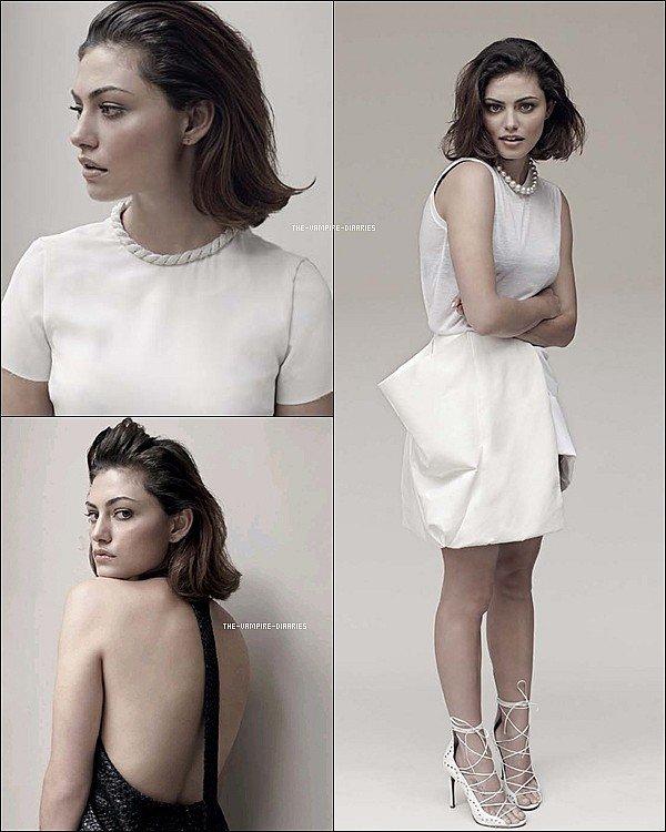 """Découvrez trois nouvelles photos de Phoebe pour le """"Stephen Ward Magazine"""""""