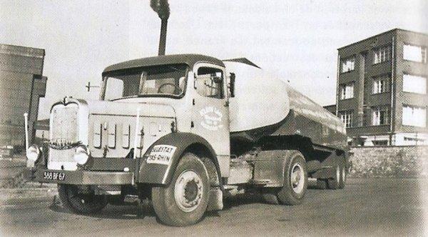 LES  ROUTIERS 1960