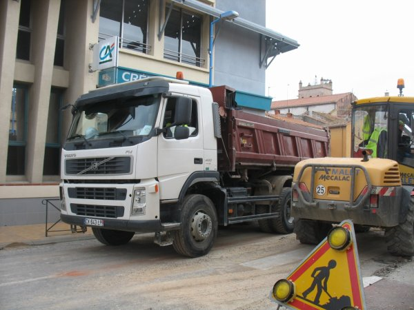 CHANTIER MACALAC VOLVO