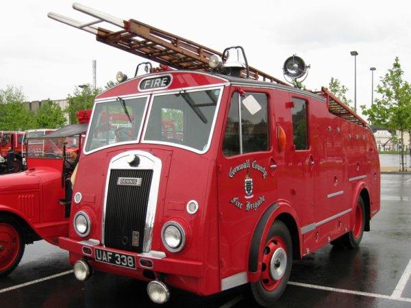 pompier anglais