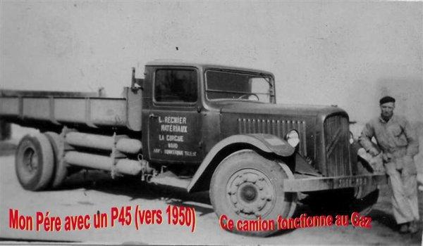 P 45  GAZ  ST ETIENNE PARIS 18 H