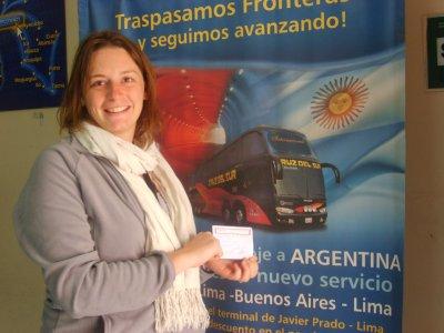 Bus vers Cusco
