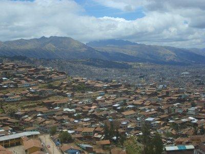 Arrivee a Cusco