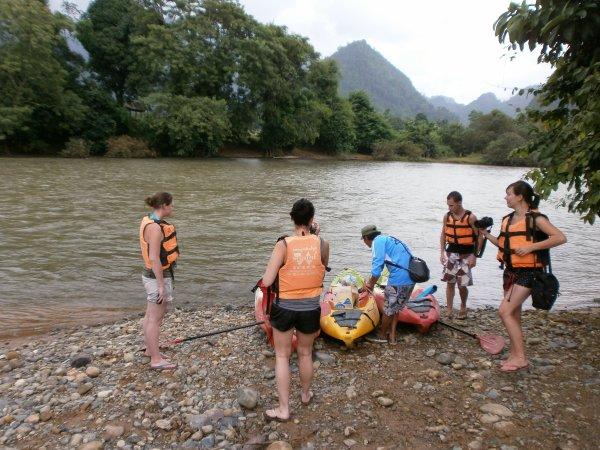 Canyoning a Vang Vieng
