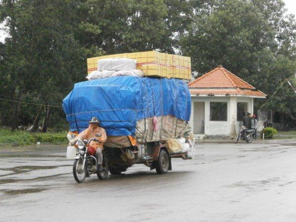 Frontiere vietnamienne...