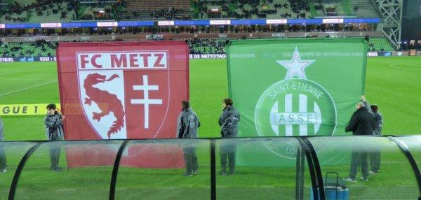 Metz - Saint Etienne 17.01.2018