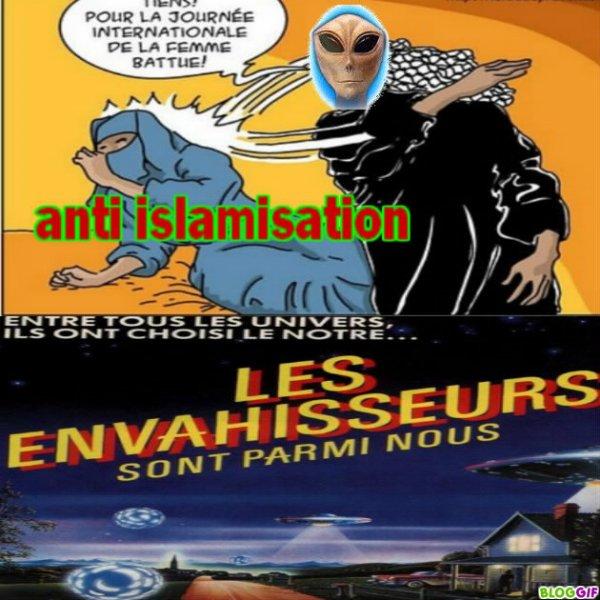 islamisation de la france NON !