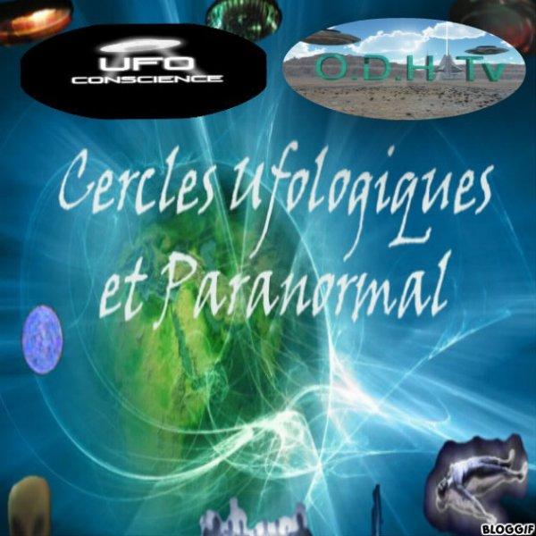 nouveau logo des cercles ufologiques et paranormal