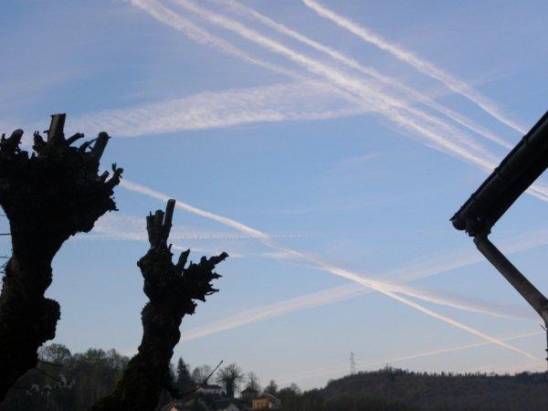 suite chamtraills  beau ciel de France