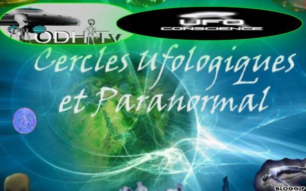logo des cercles ufologiques et paranormal