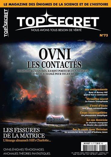 top secret magazine  ovnis et paranormal