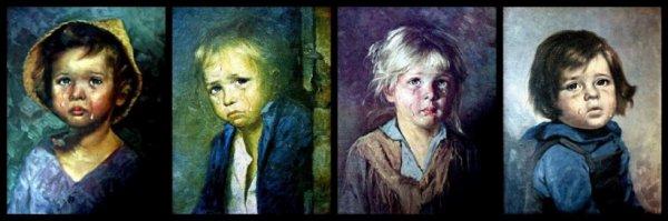 La malédiction des enfants qui pleurent