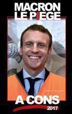 La  grenouille plus gros que le boeuf , Macron  piège a con