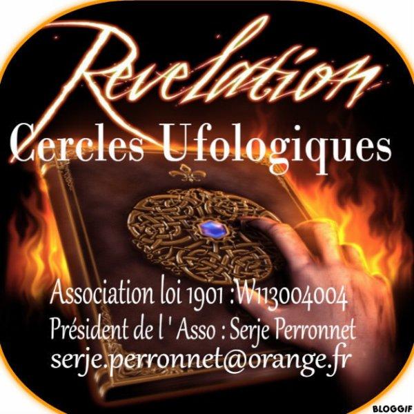 Logo de notre association  < Cercles Ufologiques