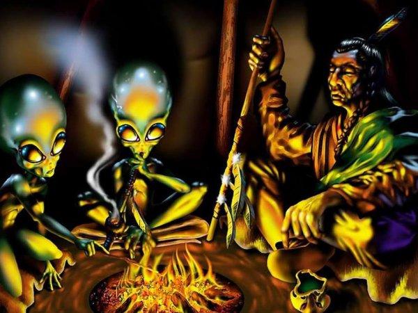 extraterrestres et rencontres