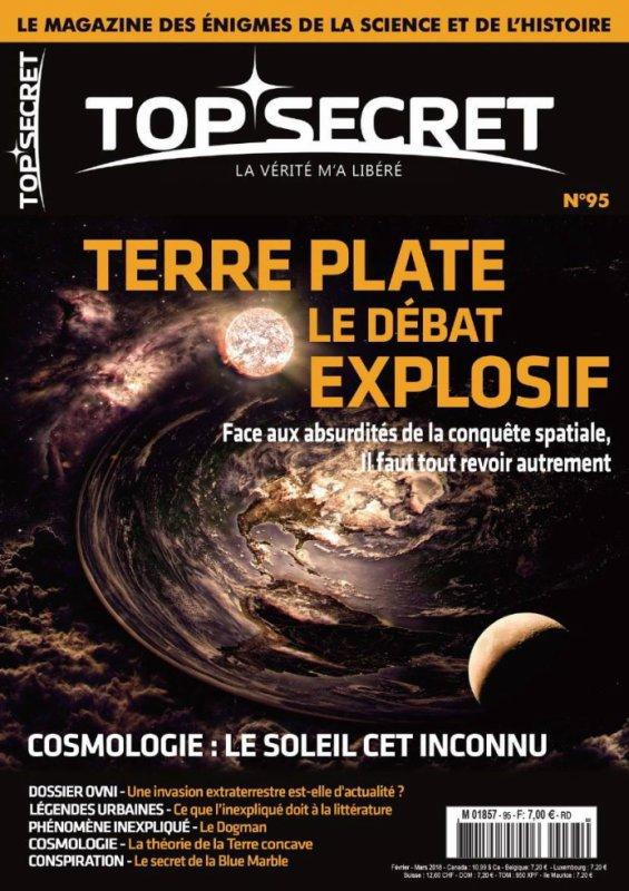 Top secret le magazine  des  gens informés   ufologie et paranormal et plus !