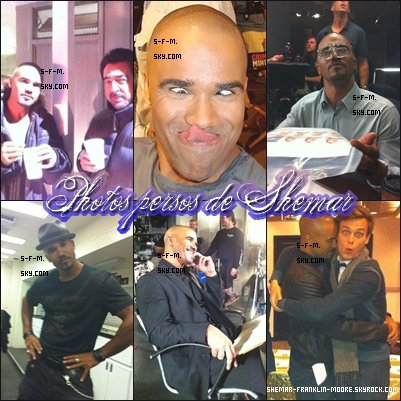 PHOTOS PERSO DE SHEMAR