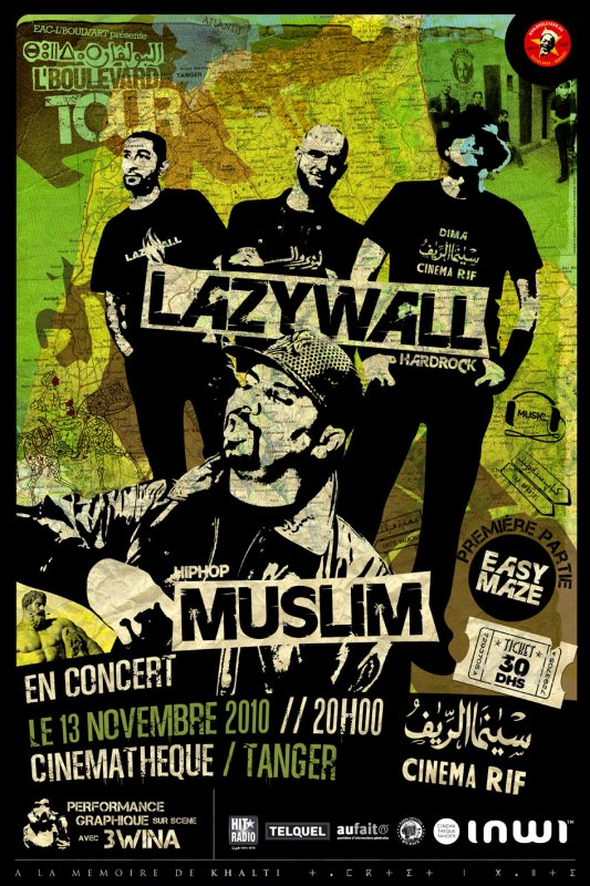 Muslim en Concert  à  TANGER