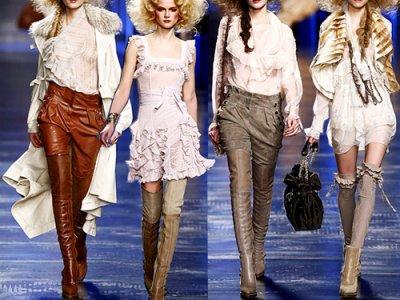 Défilé Christian Dior.