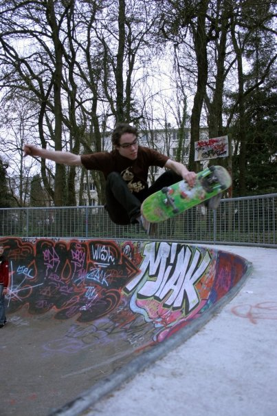 Charlie - Fs Air au bowl de Procés à Nantes