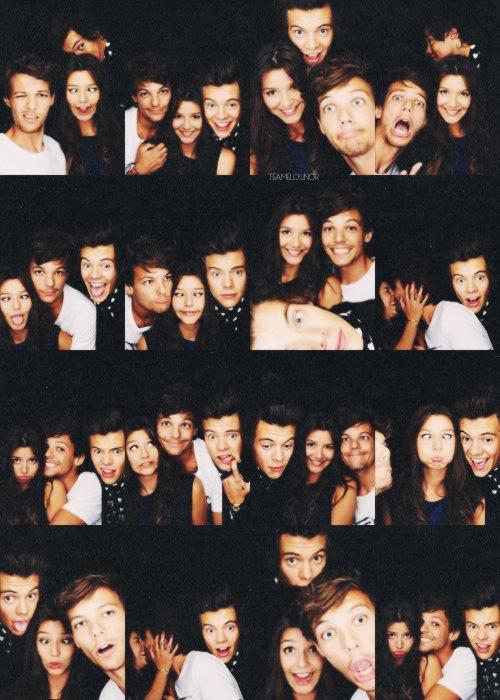 Harry, Louis et Eleanor !!!