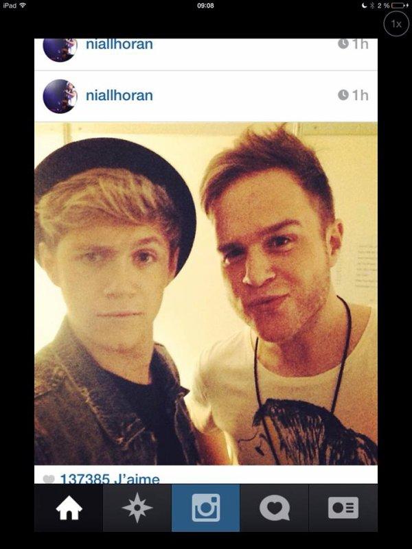*Niall et Olly Murs