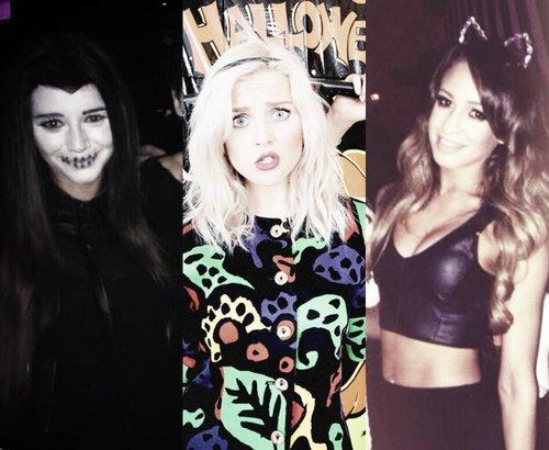 Déguisement d'Eleanor, Danielle et Perrie pour Halloween !!!