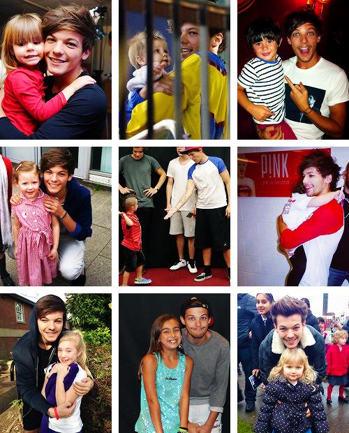 Louis et les enfants !!!