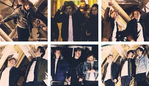 Tournage du clip Midnight Memories !!!