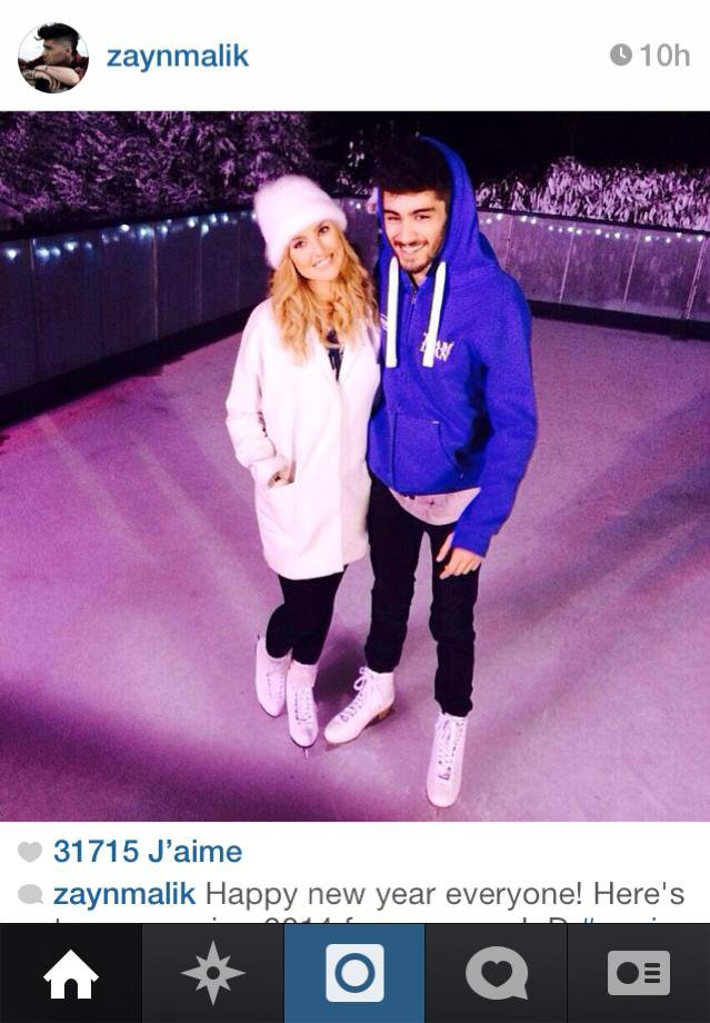 Zerrie au patinage