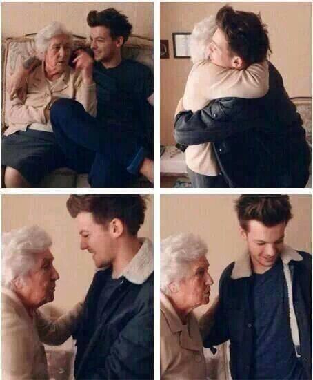 RIP grand mère de Louis