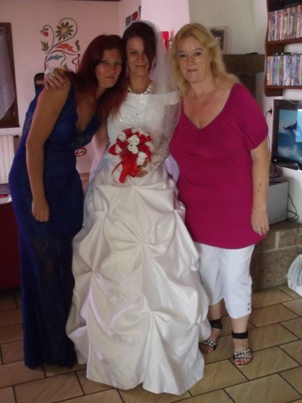 moi et mes deux filles