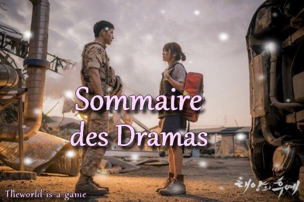 Sommaire des Dramas