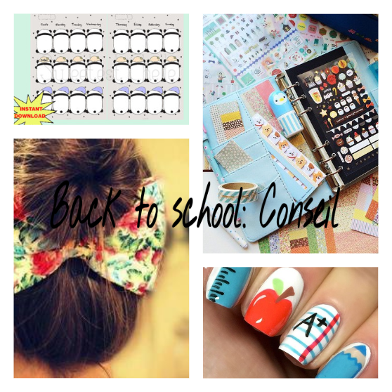 ☛ Back to school Conseil ☚