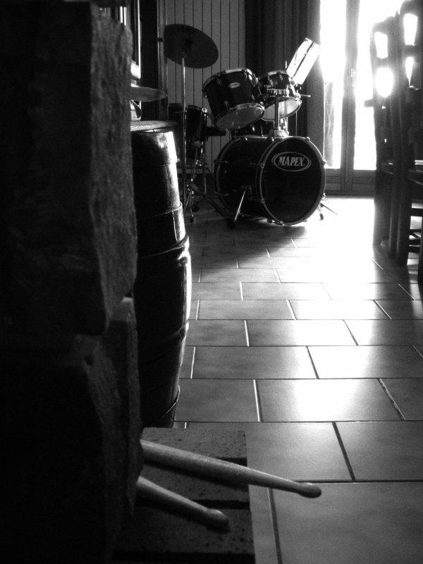 La percussion.