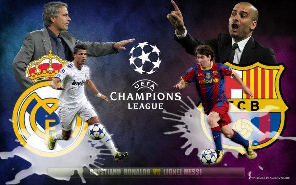 Voila le coach du real madrid et de FC Barcelone