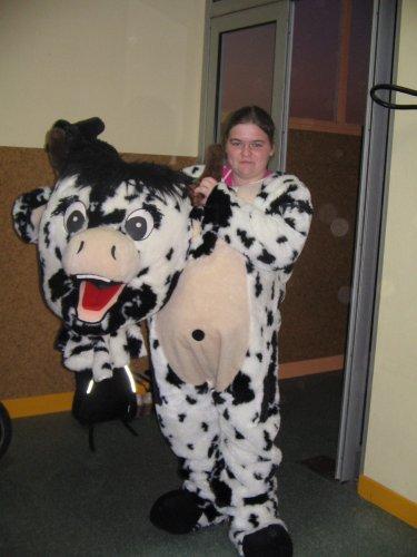 voici dorine en vache