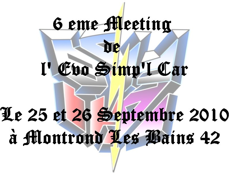 6eme meeting de l évo simp'l car
